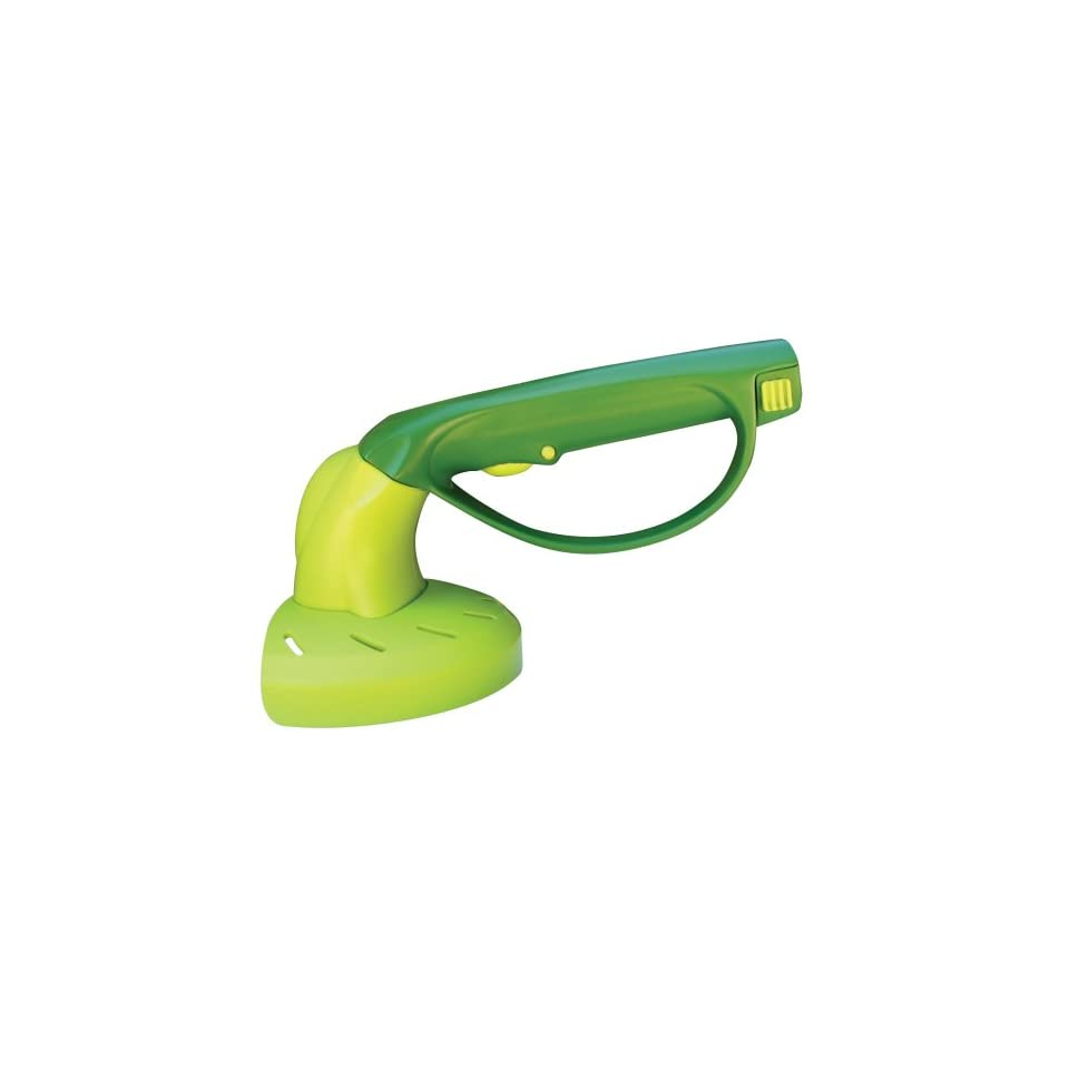 Hand Weed Whip ~ Groworks hand held weed trimmer rechargeable patio lawn