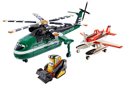 Disney Planes: Fire & Rescue Windlifter, Dusty and Drip Gift Pack