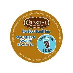 Celestial Seasonings Perfect Southern Sweet Iced Tea * 1 Box Of 22 K-Cups *