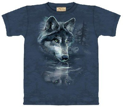 The Mountain Wolf Reflection T-Shirt - Large front-967786