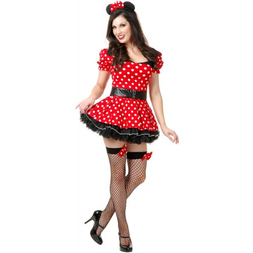 MISS MOUSE PIN UP W/DOUBLE LAYER PETTICOAT