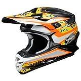 SHOEI ショウエイ VFX-W TURMOIL Helmet 2016モデル オフロード ヘルメット ブラック/オレンジ XS(53?54cm)