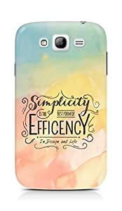 Amez Simplicity is the best form of Efficency Back Cover For Samsung Galaxy Grand i9082