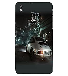 HTC DESIRE 816 CAR Back Cover by PRINTSWAG