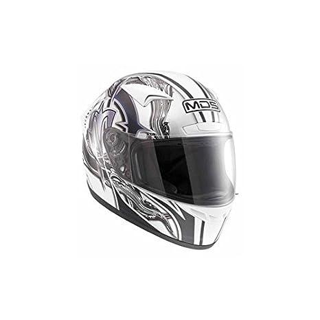 AGV Helmets 3232A2D0_001_L M13 MDS E2205 Multi, Multicolore (Brush Blanc/Noir), L