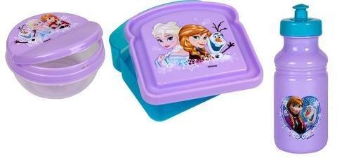 Disney Frozen 3-Piece Lunch Box Set (Disney Container compare prices)