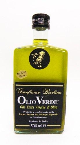 Olio Verde Extra Virgin Olive Oil (Sicily, Italy) 500 ML Bottle