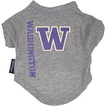 Ncaa Washington Huskies Pet T-Shirt, Team Color, X-Large front-1070304