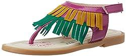 Kittens Girls Multicolor Fashion Sandals - 2 UK/India (33 EU)