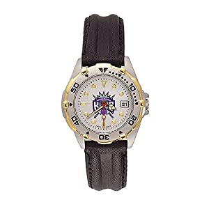 Sacramento Kings Ladies NBA All-Star Watch (Leather Band) by NBA Officially Licensed