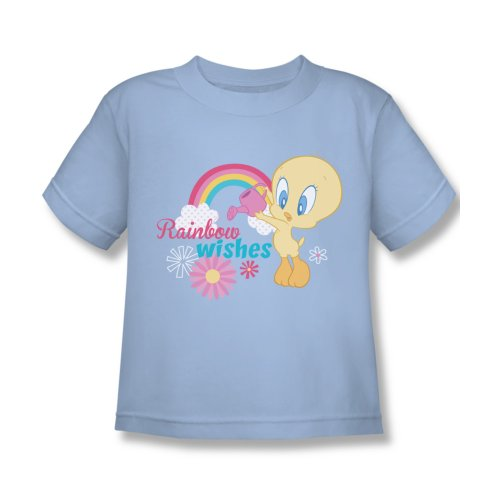 Wb Baby Looney Tunes Baby Tweety Rainbow Wishes Juvenile T-Shirt Tee