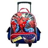 Marvel Spiderman 12in Toddler Size Rolling Backpack