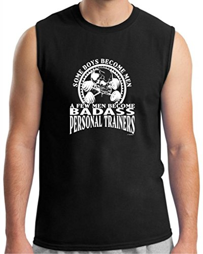 Created Equal, A Few Men Become Personal Trainers Sleeveless T-Shirt Large Black