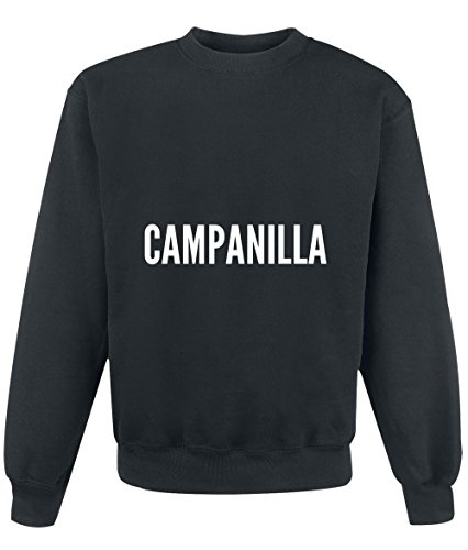 Felpa Campanilla city Black