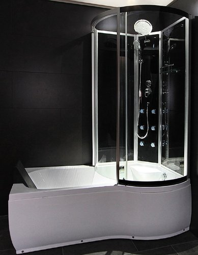 Mischbatterie Dusche Ideal Standard : AcquaVapore DTP8050-A300L Wanne, Badewanne, Dusche, Duschkabine 170×98
