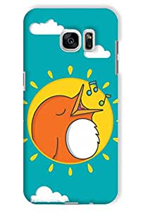 IndiaRangDe Case For Samsung Galaxy S7 edge Printed Back Cover