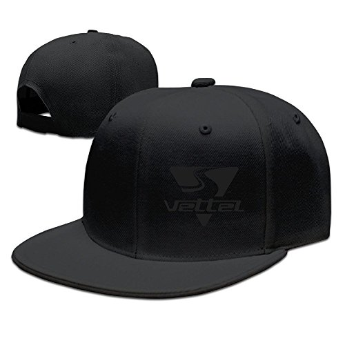 hittings Sebastian Vettel Unisex Fashion Cool Adjustable snapback Baseball Cap Hat One Size Black