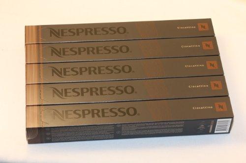 Choose 50 Ciocattino Nespresso Capsules Espresso Lungo - Nespresso