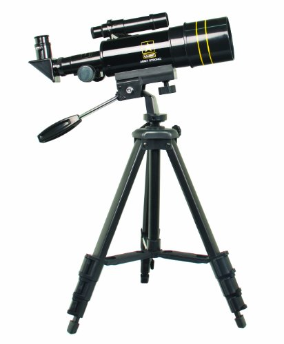 U.S. Army Us-Tf30060 Refractor Telescope 300X60 (Black)