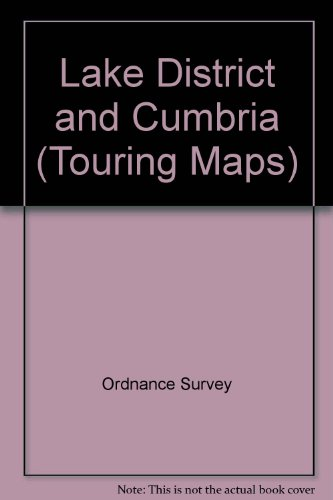 Lake District and Cumbria (Touring Maps)