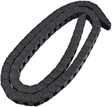 10mm x 10mm Plastic Electronic Equipment Part Towline Cable Drag Chain