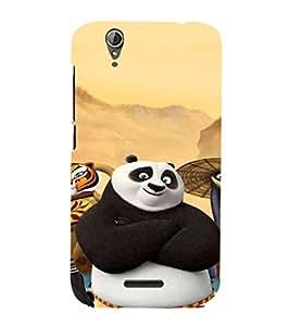 EPICCASE Cool Panda Mobile Back Case Cover For Acer Liquid Z630 (Designer Case)