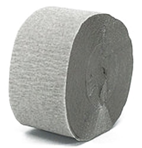 "Mylife Silver Gray - Crepe Paper Roll Streamer ""Decoration And Craft Supply"" 81 Feet / 24.7 Meters (Great For Space Themed Party) front-350214"