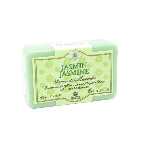 マルセイユ石鹸 ソリッド ジャスミン 100g