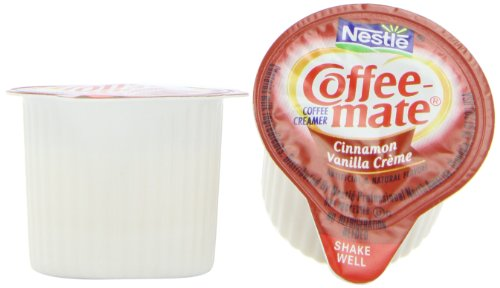Coffee-mate Coffee Creamer, Cinnamon Vanilla Creme Liquid Singles, 0.375-Ounce Creamers (Pack of 180) at Sears.com