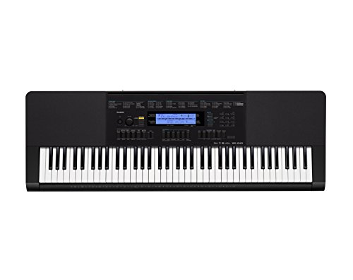 Casio Inc. Wk245 76-Key Touch Sensitive Keyboard With Power Supply