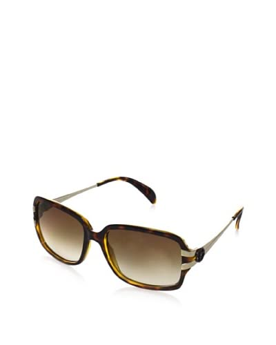 Giorgio Armani Women's GA 776/S Sunglasses, Havana/Light Gold