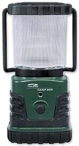 Litexpress Camp 200 grün/schwarz, Camping-Laterne, 3 Hochleistungs-LED bis zu 300 Lumen, Kunststoffgehäuse, Leistungsangabe nach ANSI-Standard von LiteXpress