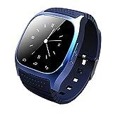 "Pandaoo New M26 Wearable Smartwatch Bluetooth Smart Watch Phone ,1.4"" Touch Screen (Blue)"