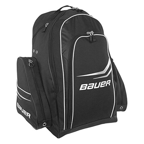 Bauer S14 Premium Hockey Wheel Backpack Large (2015) BLACK AND RED (Wheeled Hockey Bag compare prices)