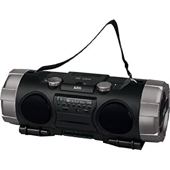 pas cher aeg ghetto blaster usb multifonctions chaine hifi portable boombox avec lecteur cd. Black Bedroom Furniture Sets. Home Design Ideas