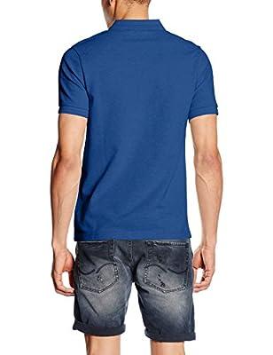Farah Men's Woodford Marl Short Sleeve Polo Shirt