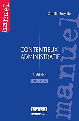 Contentieux administratif 2015-2016