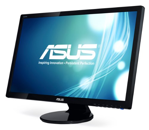 ASUS VE278Q 27 inch LED Widescreen Full HD 1080p with HDMI Display Port 2ms Response Time Picture in Picture