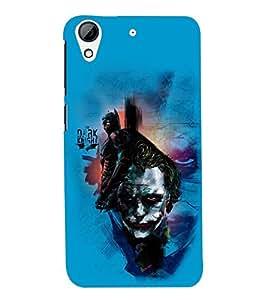 printtech Joker Back Case Cover for HTC Desire 728::HTC Desire 728G