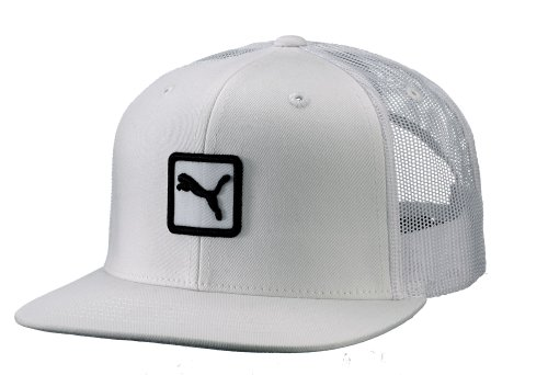 70f25c70598 Puma Men s Cat Patch Snap Back Trucker Hat