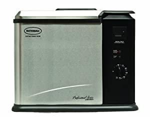 Masterbuilt 20011210 Butterball Professional Series Indoor Electric Turkey Fryer, X-Large [OLD VERSION] (Discontinued by Manufacturer)