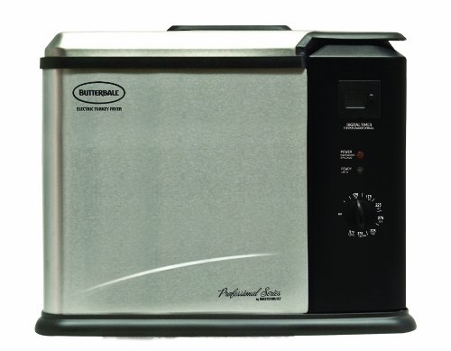 Masterbuilt 20011210 Butterball Professional Series Indoor Electric Turkey Fryer, X-Large