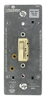Single-Pole and 3-Way, ToggleTouch Preset Digital Incandescent ToggleTouch Dimmer, Various Colors Available, TGI06-1L
