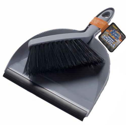 best spic and span kleen maid 00944 grey black one size auto dustpan and brush metadubi. Black Bedroom Furniture Sets. Home Design Ideas