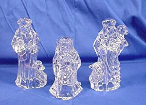 Marquis by Waterford Crystal Nativity SHEPHERDS & SHEEP Set