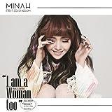 GIRL'S DAY MinAh [ I AM A WOMAN TOO ] 1st Solo Mini Album CD (SMC Card Album) K-POP
