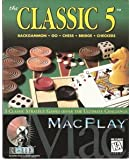 "MacPlay the ""Classic 5"" Backgammon, Go, Chess, Bridge and Checkers."