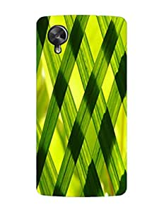 Bagsfull Designer Printed Matte Hard Back Cover Case For Google LG Nexus 5
