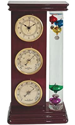 Ambient Weather WS-YG710S-Y Galileo Weather Station with Thermometer, Barometer, Hygrometer and Clock from Ambient Weather