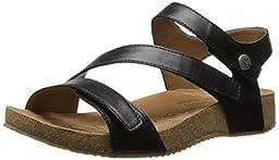 Josef Seibel Women\'s Tonga 25 Dress Sandal, Black, 36 EU/5-5.5 M US